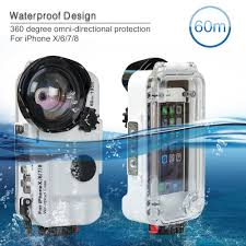 <b>Seafrogs</b> 60m/195ft 4.7'' Bluetooth Waterproof Housing Diving ...