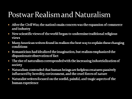the red badge of courage ppt  6 postwar realism and naturalism