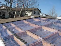 clear corrugated plastic roof panels