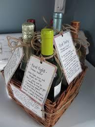 milestone wine basket