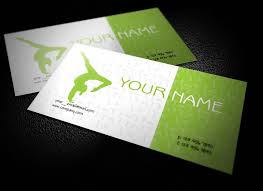 Teacher Business Cards Templates Free Download This Interesting Free Yoga Teacher Business Cards Design In