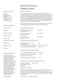 Sample Cv Template Cv Template Academic 2 Cv Template Sample Resume Resume Resume