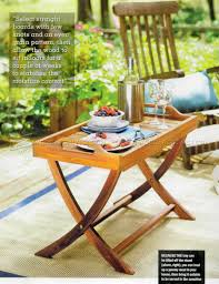 outdoor furniture trends. Furniture Wooden Outdoor Plans Awesome Folding Serving Tray Table U Woodarchivist Image For Trends