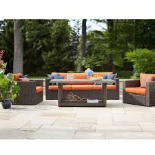 Sunbrella fabric Hampton Bay Patio Furniture Outdoors The