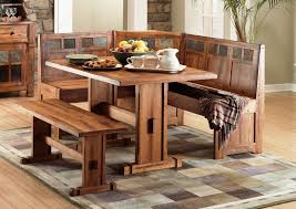 Rustic Kitchen Table Bench