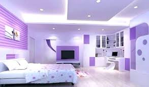 dark and light purple walls purple walls what color bedding bedroom headboard style chevron table lamp