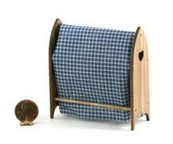 Dollhouse Miniature 1:12 Scale Pine Quilt Rack by Sir Thomas Thumb &  Adamdwight.com
