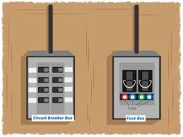 blown fuse breaker box