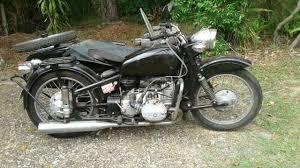 bike and sidecar 750cc boxer motor
