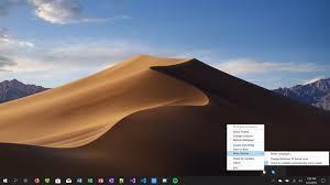 dynamically change desktop wallpaper