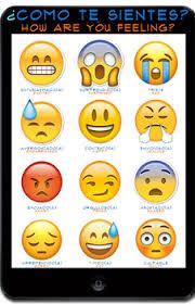 Spanish Feelings Chart Emoji Feelings In Spanish Worksheets Teaching Resources Tpt