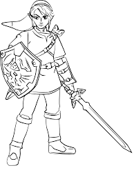 Small Picture The legend of zelda coloring pages link ColoringStar