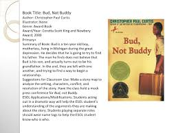 complete reading response project nikki spicer book title bud not buddy