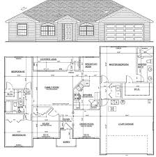1700 sq ft house plans with garage 1700 square foot house plans oconnorhomesinc home design