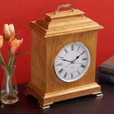 mantel clock woodworking plan gifts decorations clocks