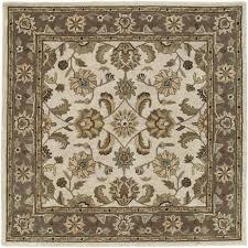 8 square linen area rug tara