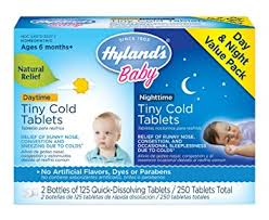 Infant and Baby Cold Medicine, Hyland's Baby Tiny ... - Amazon.com