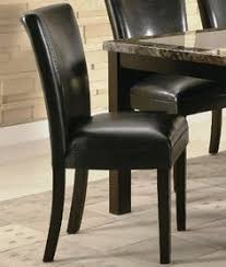 coaster furniture carter black parson side chair set of 2 102262 find this pin and more on home kitchen dining room