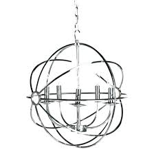 crystal chandelier 16 source foucaults orb chandelier orb chandelier chandeliers lighting chrome