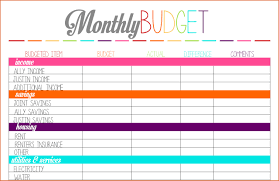 Free Printable Budget Worksheet For Business Download Them