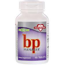<b>BP Manager</b>, <b>90 Tablets</b> - iHerb