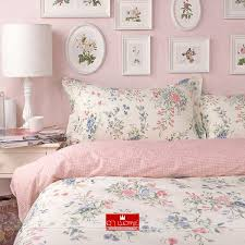 style navy and white print bedding set cotton duvet cover bed line pillowcase sheet 4pcs in bedding sets from home garden on aliexpress com alibaba