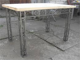 Table Demi Lune Cuisine Unique Butler Nottingham Metal Wood