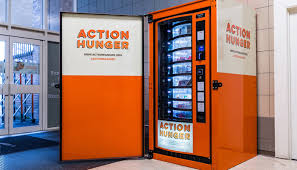 New Vending Machine Cool New Vending Machines Serve Essentials To The Homeless The Matador