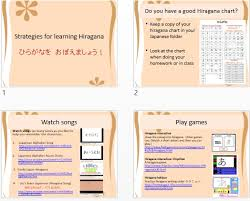 Writing Hiragana - Japanese Teaching Ideas