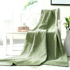 green throw blanket knitting pattern sage green throw blanket soft knitted bed cotton bamboo washable rugs