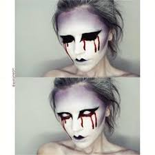 creepy makeupangel