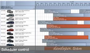 Activeganttcsn Gantt Chart Scheduler Component Winforms V3