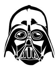 Small Picture Mask of Darth Vader coloring page kids Pinterest Darth vader
