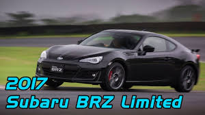 subaru brz black. 2017 subaru brz limited with performance package crystal black silica exterior design and drive brz
