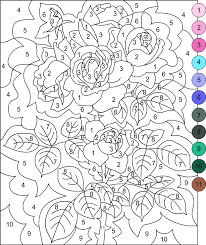 Small Picture Nicoles Free Coloring Pages COLOR BY NUMBER Color by Number