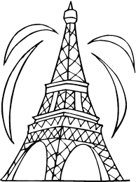 Small Picture Eiffel Tower Coloring Page Ppinewsco