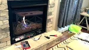 gas fireplace pilot light adjustment say li o urn gas fireplace pilot say li napoleon light wont stay on