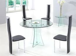 round glass dining table glass circle dining table entrancing idea round glass top dining table glass