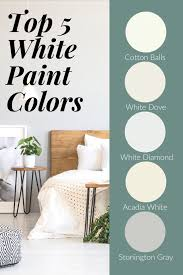 selecting the right white paint color