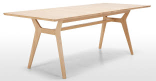 wood extendable dining table walnut modern tables: jenson extending dining table solid oak tables dining tables and solid oak