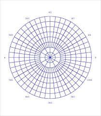 6 Polar Graph Paper Templates Pdf Free Premium Templates