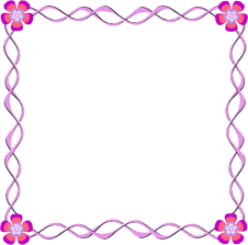 girly borders for microsoft word frame swirl flower free images at clker com vector clip art