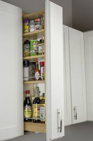 pull out spice rack shelves