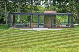 philip johnson s glass house new canaan