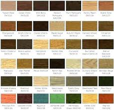 Wood Stain Comparison Chart Stain Varathane Itsara Co