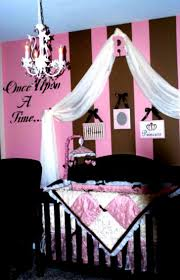 baby girl nursery ideas pink and brown baby girl bedding