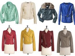some jacket selections below in every single color of the rainbow for yourself or as a trendy gift for someone on your nice list this holiday