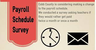 If You Get Paid Semi Monthly After 19 Years Cobb County Considers Bi Monthly Pay System