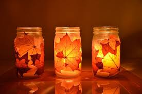 Fall Table Decorations With Mason Jars 100 Days Of Fall Inspiration Decorating With Candles 82