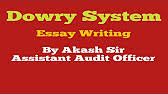 what is the dowry system  5 07